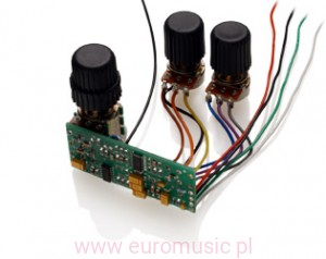 EMG-BQS Control - Equalizer do basu